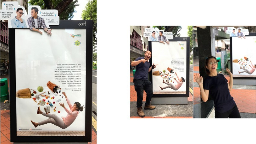 Singapore Kindness Movement – Ben and Bang