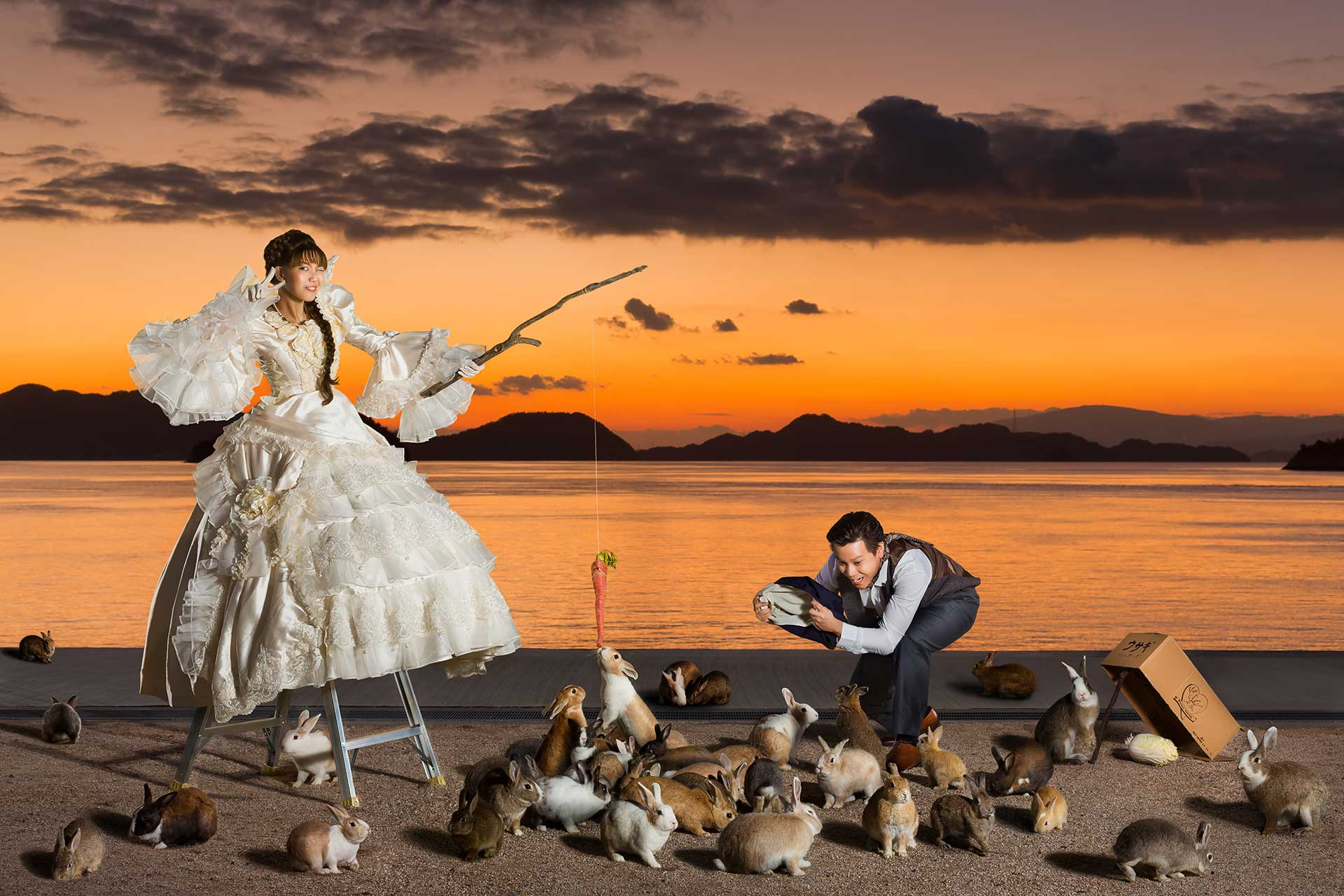 Unique Amp Creative Wedding Photographer Singapore Raymond